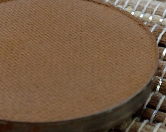 Matte Camel Brown Eyeshadow Vegan Pressed Eyeshadow