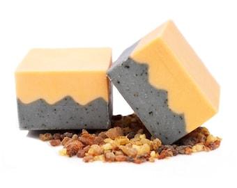 Organic Handmade Soap, Vegan, Cold Process, Hypoallergenic Soap,Frankincense