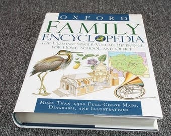 Oxford Family Encyclopedia 1St Edition 1990