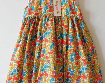 Liberty Print Tea Dress Size 4-5 years
