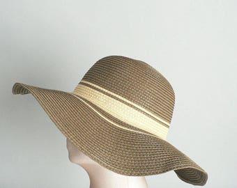 Floppy Brim Sun Hat Women
