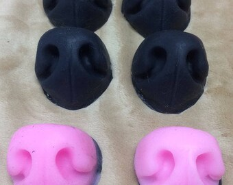 Small Silicone Toony Canine Fursuit Nose