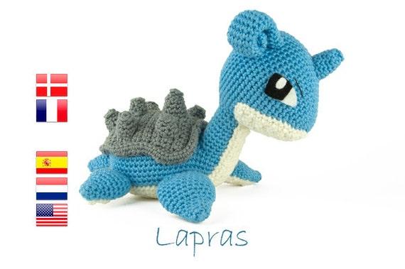 Crochet pattern Lapras (Pokemon)