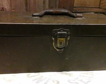 Vintage Metal Craft Box Tackle BoxVintage Tool Box Vintage Kennedy Kits Tackle & Tackle box   Etsy Aboutintivar.Com