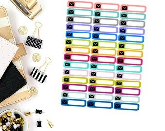 Mail Mini Label Stickers! Perfect for your Erin Condren Life Planner, calendar, Paper Plum, Filofax!