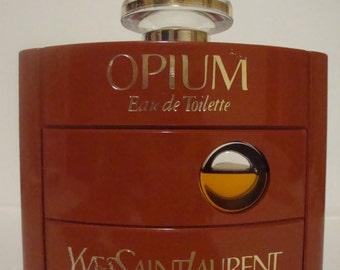 Vintage Yves Saint Laurent Paris Opium Eau De Toilette Bottle 60ml