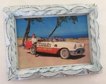 Vintage Lake Michigan Framed Art