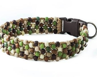 Azzi Beaded Dog Collar