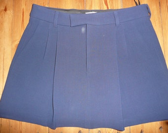 Miu Miu blue skirt made in Italy sz44