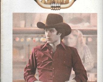 Urban Cowboy Starring John Travolta Souvenir Movie Program 1980