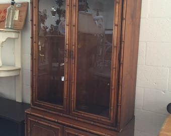 SOLD Dixie Curio Cabinet