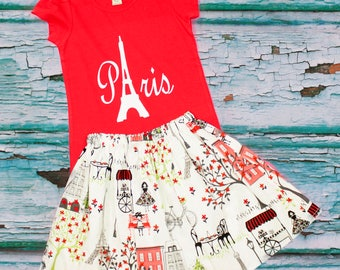 Paris outfit,  Girl Paris outfit,  Girl birthday outfit ,  Paris, Disney outfit,  Girl outfit, Girl dress