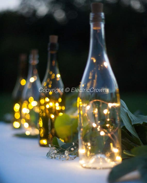 Wine Bottle Decoration With Lights Custom Wine Bottle Crafts Wine Decor String Lights For Wine Design Inspiration