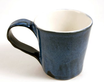 Rich Blue Lagoon 12 ounce Stoneware Mug