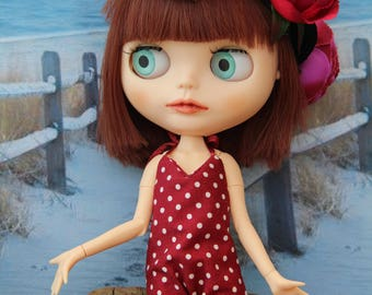 RESERVE A STEPH(Ne pas Acheter) Bloomer/Jersey bath/swimsuit for your dolls/doll Blythe, Pullip, Licca and Tangkou