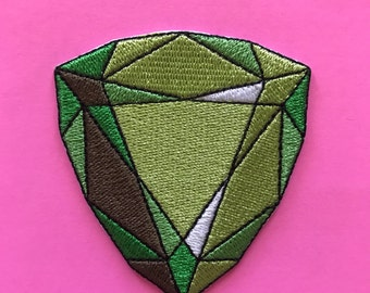 Green jewel patch