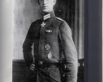 Canvas 24x36; Kurt Wintgens (1 August 1894 - 25 September 1916) Was A German World War I Fighter Ace
