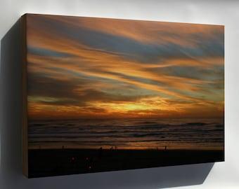 Canvas 24x36; Ocean Beach Sunset Fall 2007 #031215