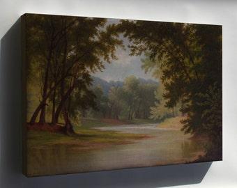 Canvas 16x24; Godfrey Frankenstein The Mill Creek