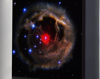 Canvas 16x24; Light Echo Around V838 Monocerotis Hst