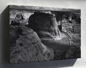 Canvas 16x24; Canyon De Chelly,  Ansel Adams