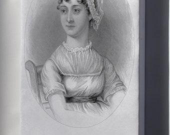Canvas 16x24; Jane Austen, From A Memoir Of Jane Austen P2 - Copy