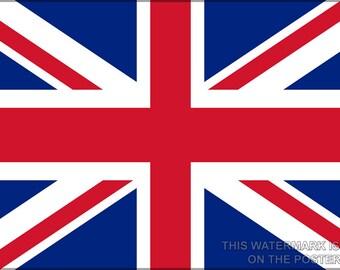16x24 Poster; Union Jack