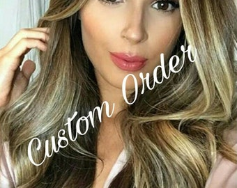 Custom Balayage Remy Clip-In Extensions 200 Grams