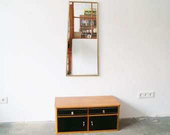 50s Sideboard With Mirror, Small Dresser, Mcm Furniture, Mirror