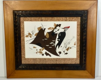 "Charley Harper ""Antypasto"" or ""Pileated Woodpecker"" Ltd Ed Serigraph HCII (artist's proof #2/25), 1970"