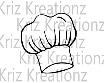 Chef Cap SVG Cut File