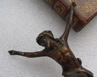 Beautiful time worn Crucifix
