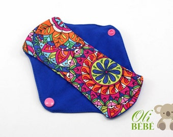 Cloth pads Pantyliner HIPPIE 100% cotton Cloth pad Mama pad Reusable cloth pad Cloth menstrual pad Cloth pad Cloth pads Eco Friendly