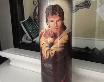 St MacGyver Prayer Candle