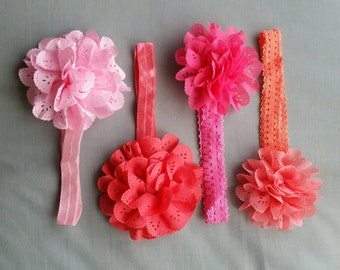 Baby flower headbands