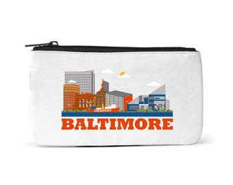 City Living - Baltimore pouch