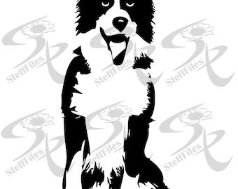 Dog_Koli_Animals_Vector_ Download files, Digital, graphical,SVG,DXF, AI, png, eps, jpg