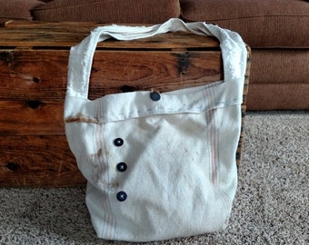 Feed Sack Handbag
