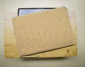 Cork Laptop Case 13 -14 inch- Cork Laptop Case 13 -14 inch: Cork laptop sleeve, MacBook case