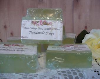 Handmade Garden Soaps Olive Oil