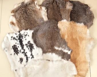Fur layers, ecologically sourced fur, organic photo prop, rabbit pelt, rabbit hide, photo props, newborn photo prop, photography props