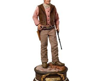 John Wayne Masterpiece Edition Sculpture by The Ashton Drake Galleries