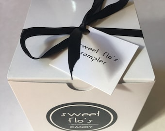 Sweet Flo's Caramel Sampler  - Father's Day Gift, Gift for Him, Gift Box