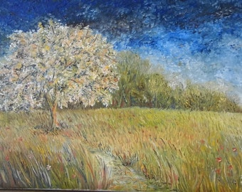 Oil on canvas signed Duret bottom right and signed on the back - May 1999-