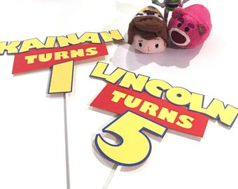 Toy Story Inspired Cake Topper / Personalized