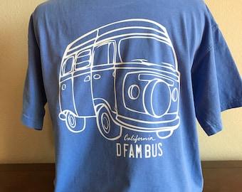 Volkswagon Bus Short Sleeve Comfort Color Tshirt  // Choose Your Color