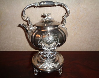 SILVER METAL SAMOVAR from Christofle