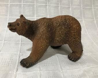 Vintage 1997 Safari LTD Brown Bear