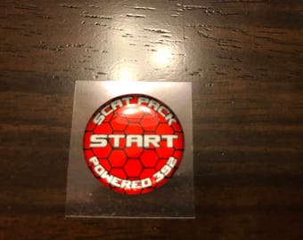 Scat pack Challenger/Charger push start button badge