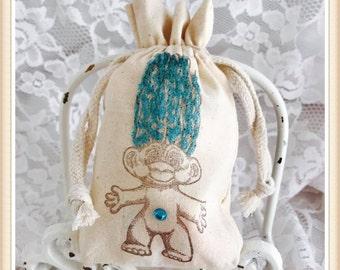 Troll Favor Bags - Troll Party Favor Bags - Troll Party Decorations - Troll Party Decor - Troll Birthday Party Favor Bags - Boy Troll